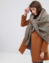 Asos Oversized Square Tweed Scarf