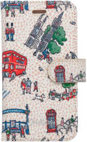 Cath Kidston Small London Spots iPhone 7 Case with Card Holder