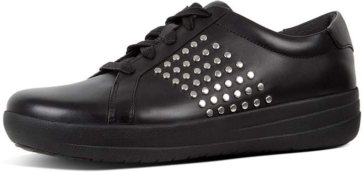 FitFlop F-Sporty Ii Metal Stud Leather Sneakers