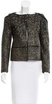 Diane von Furstenberg Wool Joele Embellished Jacket