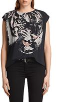 AllSaints Turan Brooke T-Shirt, Black