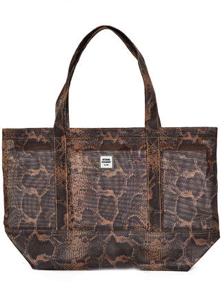 Opening Ceremony Medium Animal Print Mesh Tote