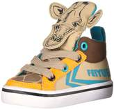 Feiyue Delta Mid Animal Grey- Giraffe Novelty Sneaker