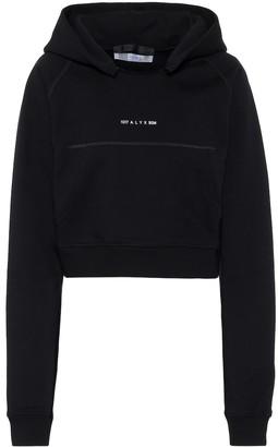 Alyx Logo cotton-blend hoodie