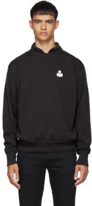 Isabel Marant Black Faded Mike Sweatshirt