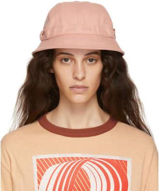 Acne Studios Pink Bla Konst Alvy Bucket Hat