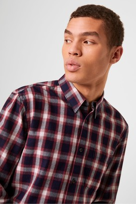 French Connection Workwear Check Flannel Shirt