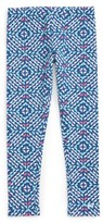 Vineyard Vines Toddler Girl's Whale Tail Print Stretch Cotton Leggings