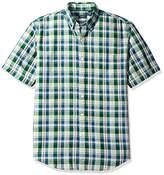 Arrow Men's Short Sleeve Madras Shirt
