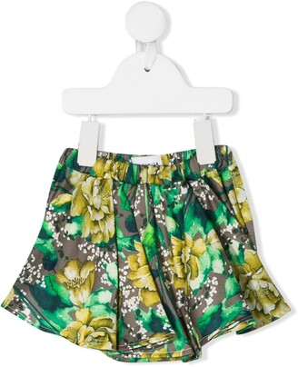 Wolf & Rita Floral Gathered Shorts