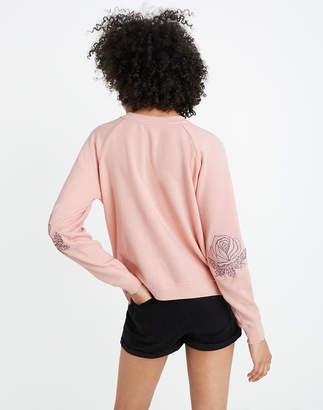 Madewell Bliss & Mischief Western Rose Sweatshirt