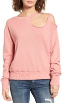 LnA Women's Gator Ripped Sweatshirt
