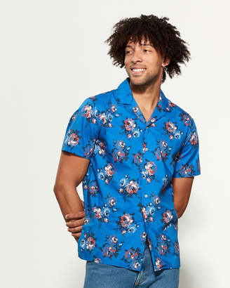 Altea Floral Short Sleeve Sport Shirt