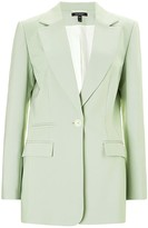 Baukjen Phoebe Blazer In Mint Green