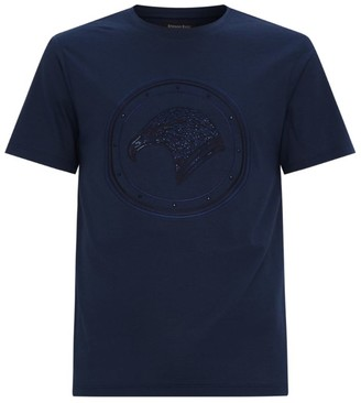Stefano Ricci Crystal Embroidered T-Shirt