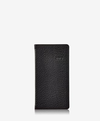 "GiGi New York 2019 6"" Pocket Datebook, Black Pebble Grain"