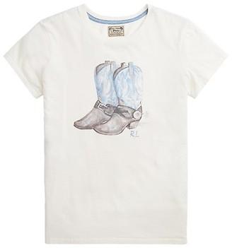 Polo Ralph Lauren Boot Graphic T-Shirt