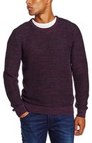 Lee Men's WINTER CREW MAROON PORT Jumper, Red (MAROON PORT), X-Large
