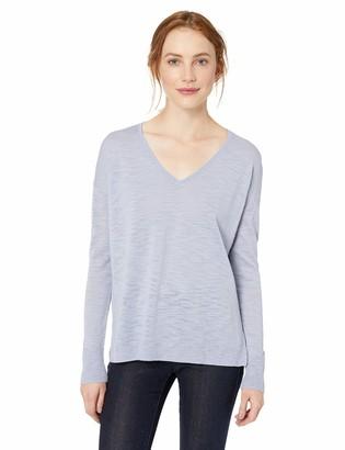 Daily Ritual Women's Lightweight V-Neck Sweater