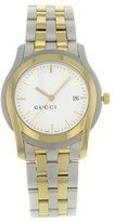 Gucci 5500 YA055216 Stainless Steel Gold Plated Quartz Men