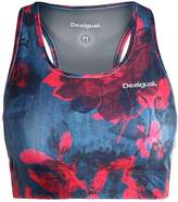 Desigual TRAINING Sports bra dark denim red