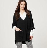 LOFT Kimono Poncho Sweater
