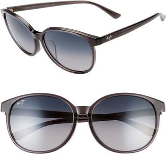 Maui Jim Water Lily 62mm PolarizedPlus2® Round Sunglasses
