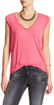 Pam & Gela Kate V-Neck Burnout Tee