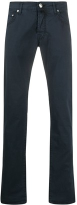 Jacob Cohen J622 mid-rise slim jeans