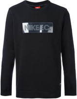 Nike F.C. crew neck sweatshirt - men - Cotton/Polyester - S