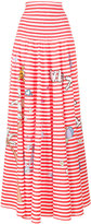 Mira Mikati printed stripe skirt - women - Cotton - S/M
