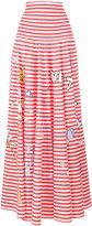 Mira Mikati printed stripe skirt - women - Cotton - XS/S