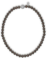 Majorica 8MM Tahitian Pearl and Cubic Zirconia Necklace
