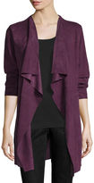 Eileen Fisher Fisher Project Draped Suede Jacket