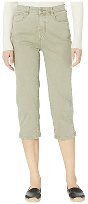 FDJ French Dressing Jeans Solid Cool Twill Suzanne Capris in Willow (Willow) Women's Jeans