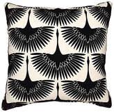 Kim Salmela Anca 20x20 Pillow - Onyx Black