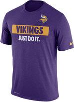 Nike Men's Minnesota Vikings Just Do It T-Shirt