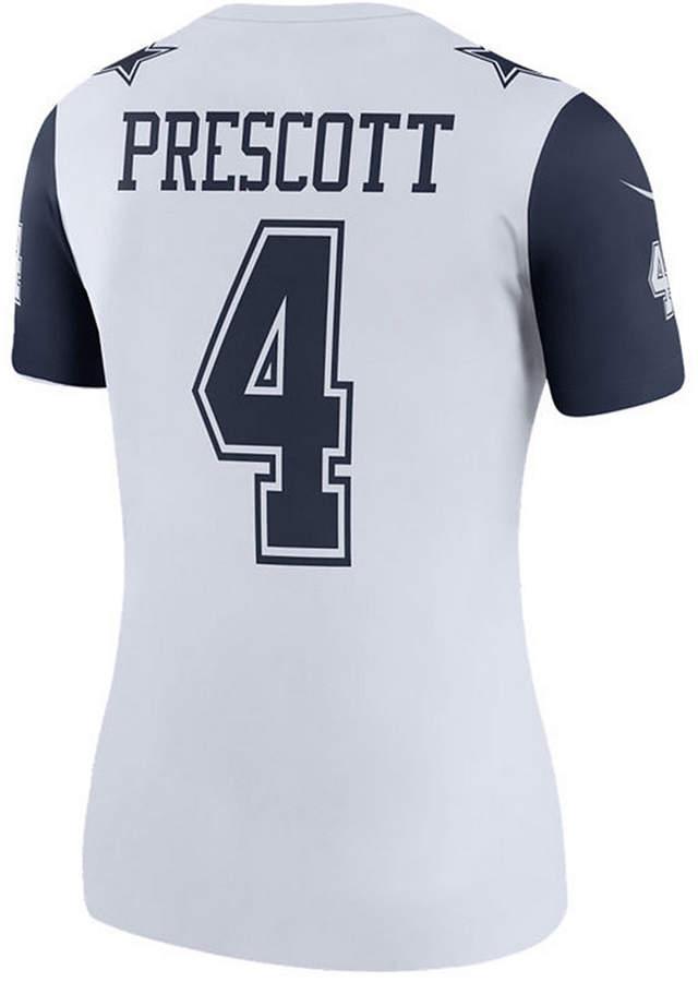 pretty nice cbac5 1a361 Women Dak Prescott Dallas Cowboys Color Rush Legend Jersey