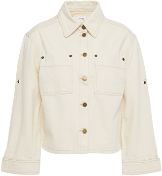 Victoria Victoria Beckham Cropped Denim Jacket