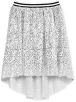 Kandy Kiss Sequined High-Low Skirt, Big Girls (7-16)