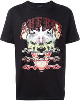 Marcelo Burlon County of Milan hyena print T-shirt - men - Cotton - XS