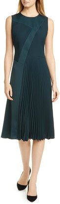 BOSS Dionia Fit & Flare Dress