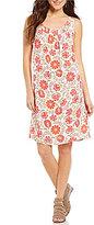 Sigrid Olsen Signature Floral Printed Shift Dress