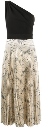 Victoria Victoria Beckham One-Shoulder Midi Dress