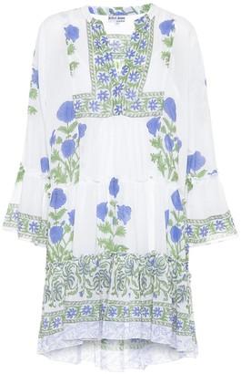 Juliet Dunn Printed cotton minidress