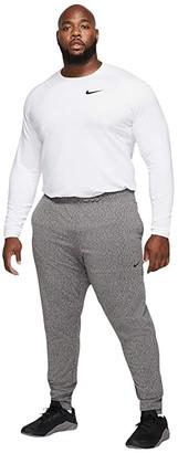 Nike Big Tall Dry Pants Hyperdry Transcend Lt (Black/Heather/Black) Men's Casual Pants