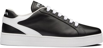 Prada Stitched Detail Low-Top Sneakers