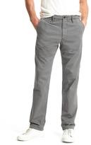Gap Vintage washed straight fit khakis