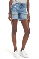 Blank NYC Women's Blanknyc Ms. Throwback Cutoff Denim Shorts