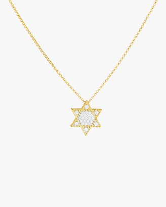 Roberto Coin Star of David Pendant Necklace